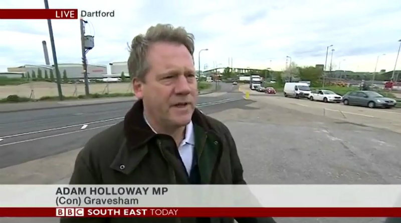 BBC South East Today Adam Holloway MP