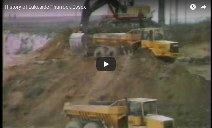 History of Lakeside Thurrock Essex