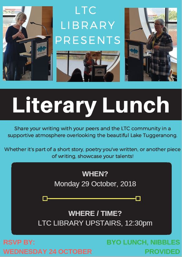LTC Library Literary Lunch 2018