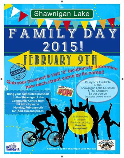 family day SHAWNIGAN LAKE