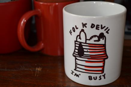 FOLK DEVIL BOOTLEG CHINA MUG