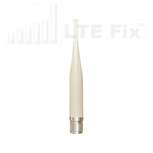 2.4GHz-5.8GHz Terminal 5dBi-7dBi Dual Band WiFi Omni Antenna N Male LTE FIX