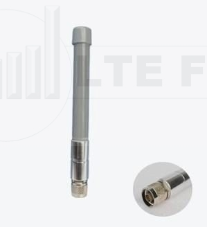 2.4GHz Radome Tube 3dBi WiFi Omni Antenna (Vertical) N Male