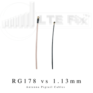 Antenna Pigtail Cables RG178 vs 1.13mm