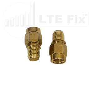 RP-SMA Male to SMA Female Adapter (PAIR)