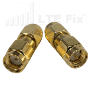 SMA Male to RP-SMA Male Adapter (PAIR)