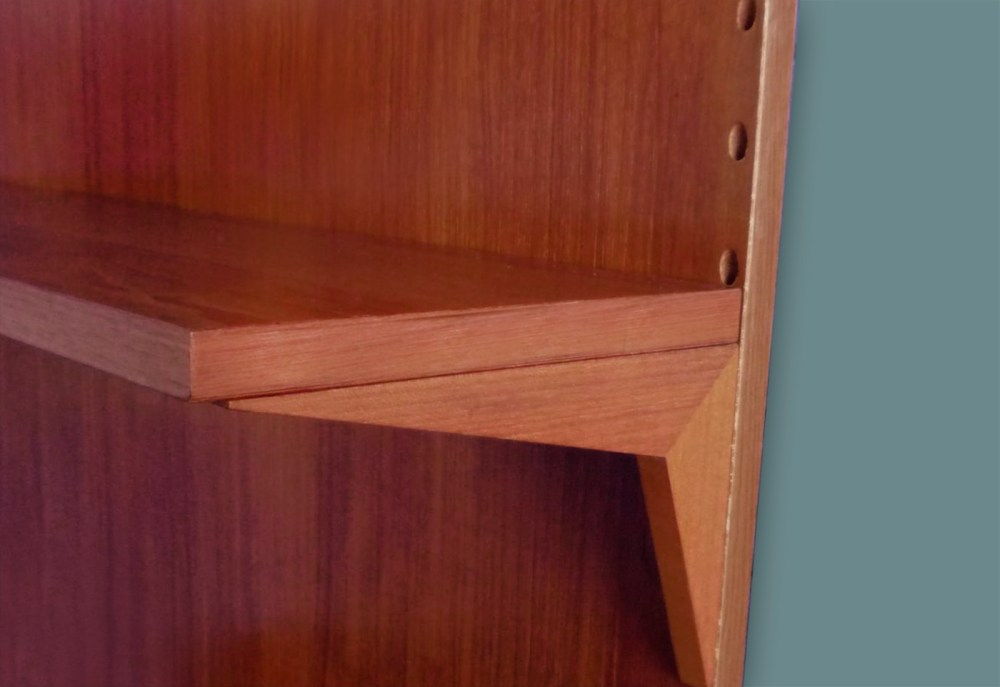 bureau poul cadovius wall unit royal system 1960