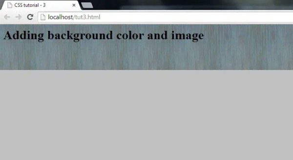 How to Add Background Color and Image in CSS - Responsive ...