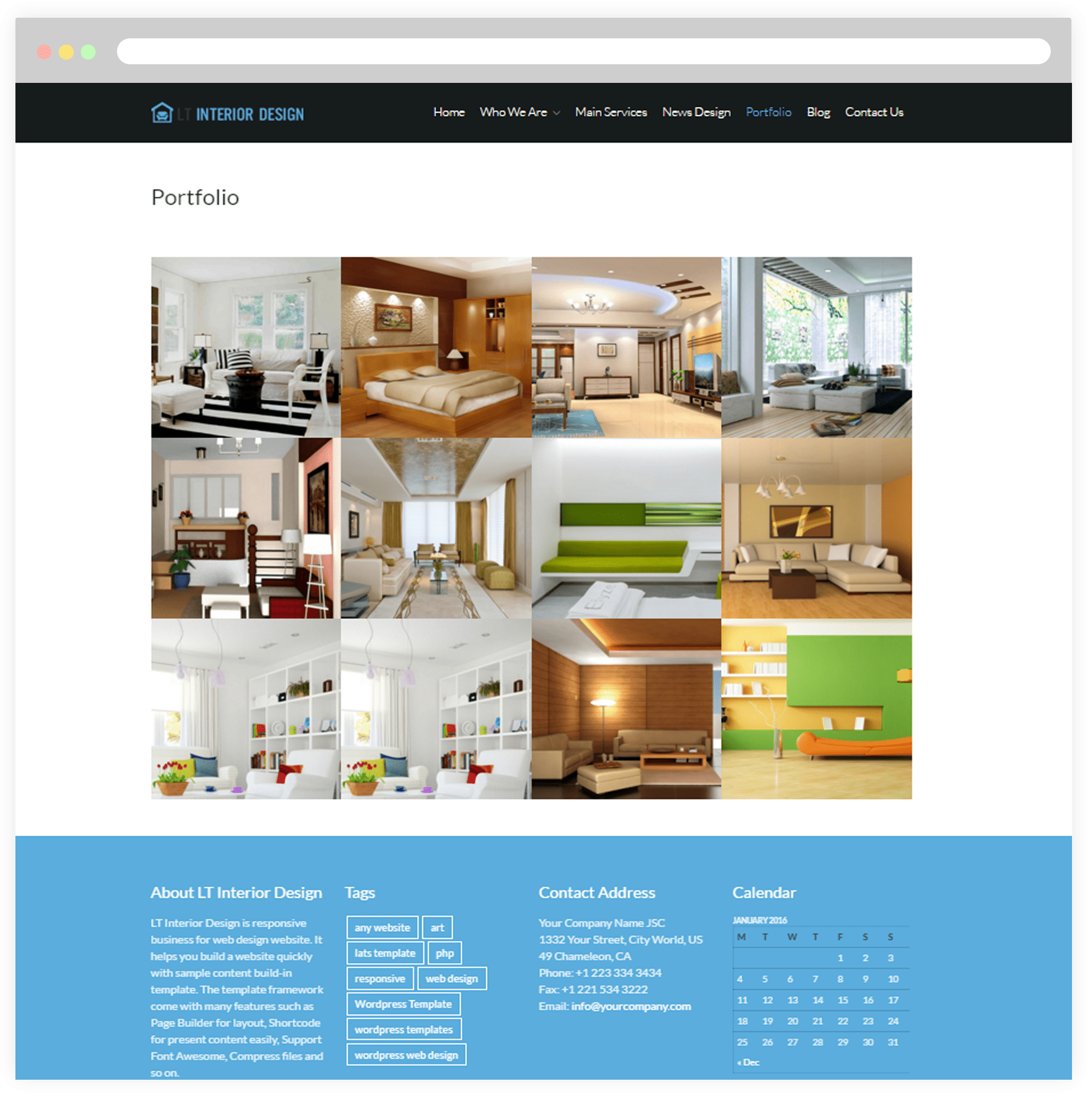 Free interior design portfolio templates for Free online interior design