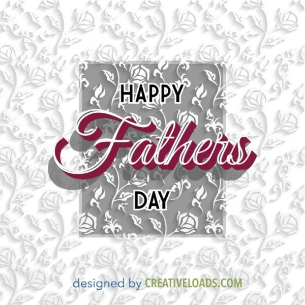 Happy Fathers Day Greeting Card - Responsive Joomla and ...