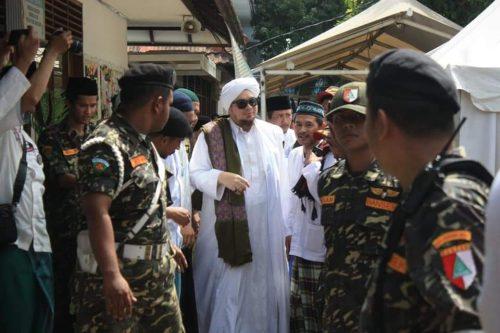 Habib Jindan bin Novel Hadiri Haul Akbar ke-25 KH. Achmad Sjaichu, Pesantren Al Hamidiyah Depok