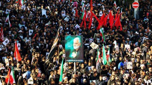 Iran Rudal Markas Militer AS di Irak dan Ancam Serang Israel