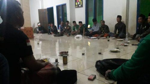 Kajian Rutin PAC Karangkamiri, Singgung Keterlibatan Ansor  Menjelang Konfercab NU