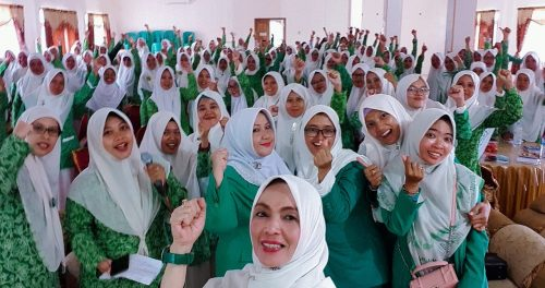 Gelar LKD, Fatayat NU Pangandaran Cetak Kader Militan