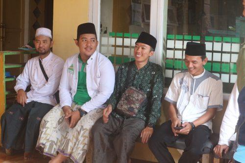 Peringati Harlah NU ke-94, Ansor Banjaran Ziarahi tokoh NU Kec.Banjaran