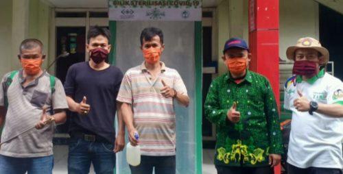 NUCare Lazisnu dan Pergunu Kota Bandung Bersinergi Buat Posko Covid-19