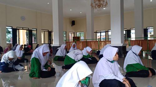 PAC IPNU dan IPPNU Cibatu Garut Adakan Pengajian Bulanan dan Doa Tolak Bala