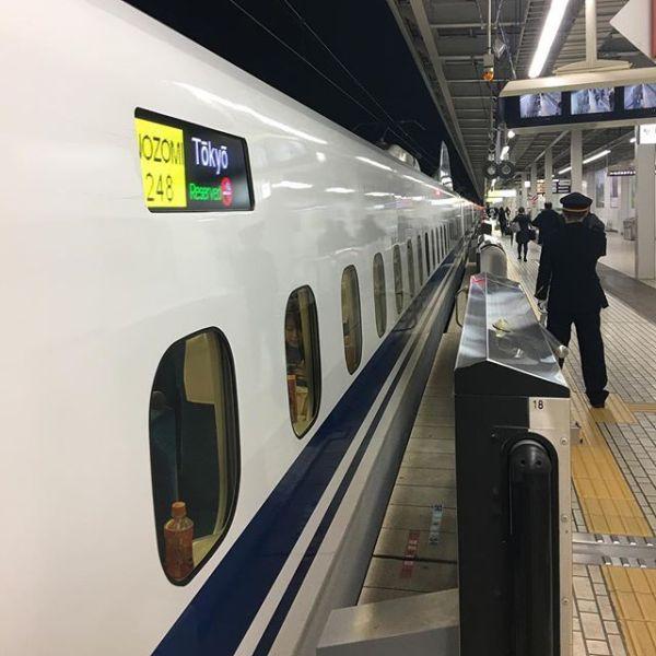 そして #新幹線のぞみ 乗車