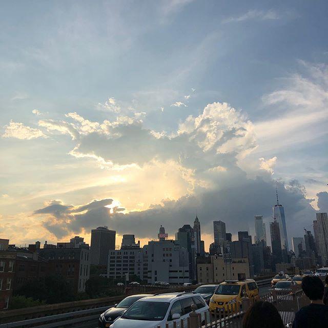 ニューヨーク・ブルックリンビレッジからの景色