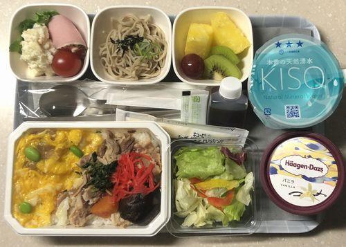 日系航空会社イメージ機内食