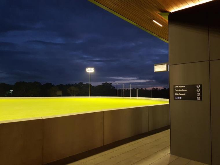New Oval 2019 - Night Shot