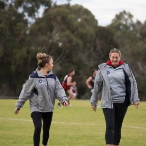 Past Players Day 2018 - Trainers - Esta Williams & Jess Watson