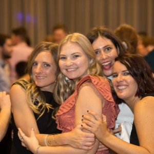 Annual Ball 2019 - Roslyn Melican, Brittany Bordignon, Marleigh Andrews & Sophie Rodier