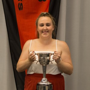 Presentation Night 2019 - Kate Bond - Jess Smith Best & Fairest