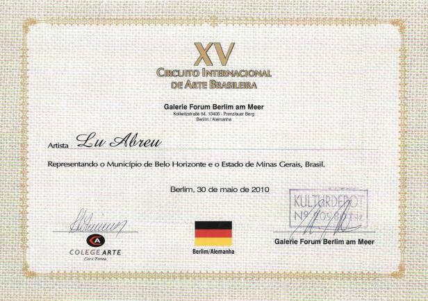 XV Circuito Internacional de Arte Brasileño - Berlín / Alemania