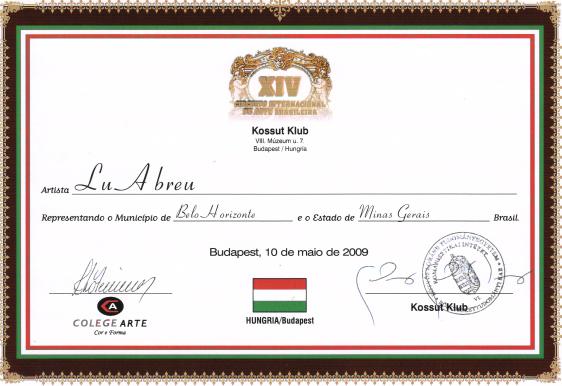 XIV Circuito Internacional de Arte Brasileño - Hungría / Budapest
