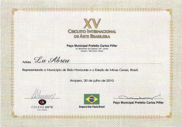 XV Circuito Internacional de Arte Brasileira - São Paulo
