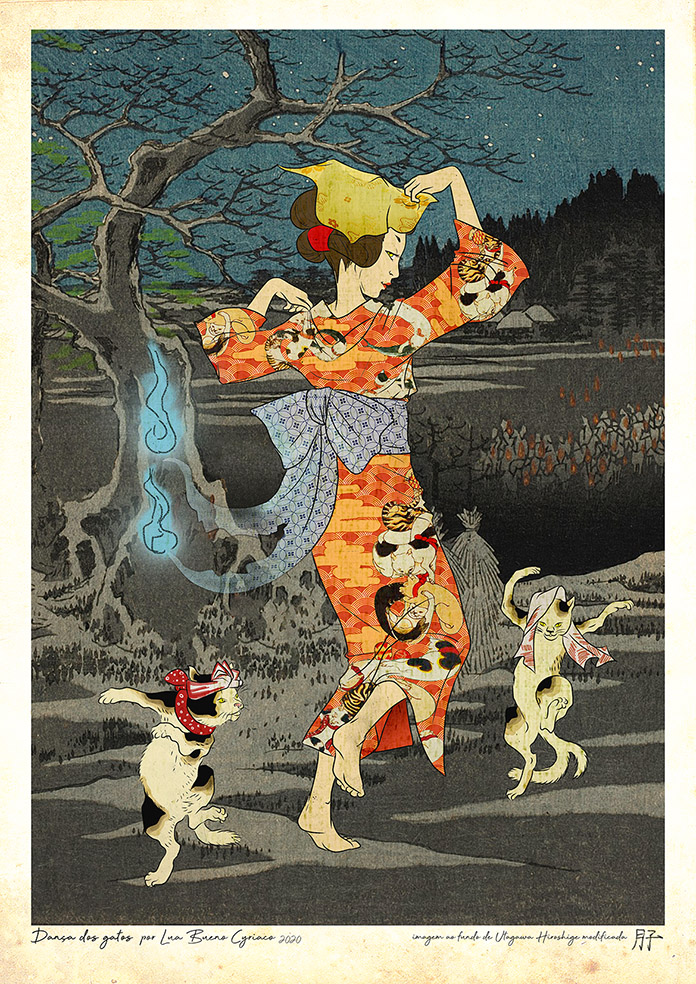 bakenekos e nekomatas: os gatos sobrenaturais japoneses