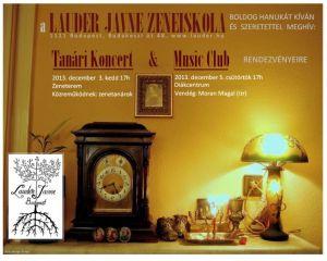 Hanukai koncertek a Lauderben