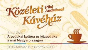 Pikó András Magyar Bálinttal beszélget a Bálint Házban!
