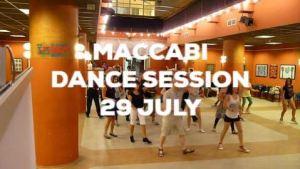 Maccabi Dance Session 29 July