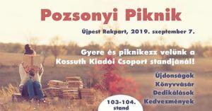 Gyere és piknikezz a Kossuth Kiadói Csoporttal!
