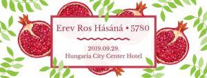 Erev Ros Hásáná – újévi istentisztelet és vacsora