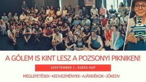 A Pozsonyi Pikniken a Gólem Színház!