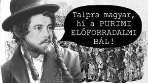 Purimi Előforradalmi Bál │ Hagesher │ NewKlezmerDisco