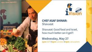 ShavuEAT: Live Cooking Session With Chef Asaf Shinar