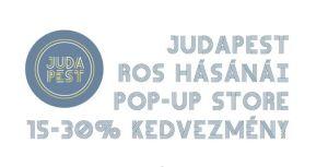 Ros Hásánái POP-UP store – 15-30% kedvezmény zuglói garázsvásárunkon