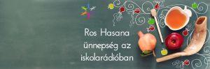 Élő közvetítés az Iskolából: Rosh Hasana ünnepség