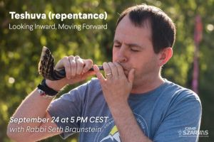 Teshuva (repentance) – Looking Inward, Moving Forward / with Rabbi Seth Braunstein