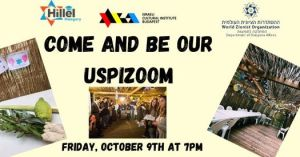 Come And Be Our Uspizoom – Sukkot