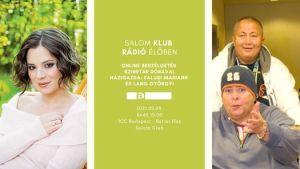 Salom Klub Rádió Élőben⎮Vendég: Szinetár Dóra