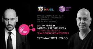 Art of Virus by Modern Art Orchestra – Online premiere of Shai Cohen's composition