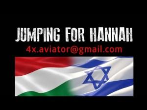 Szenes Hanna tiszteletére rendezett ejtőernyős megemlékezés