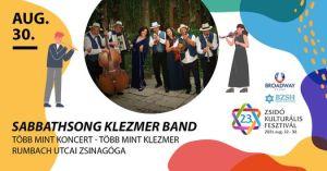 Sabbathsong Klezmer Band koncert – több mint koncert, több mint klezmer