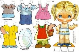 bonecas de papel 12 300x199 - Brincando com bonecas de papel