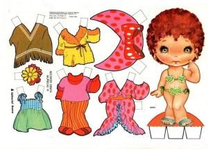 bonecas de papel 7 300x216 - Brincando com bonecas de papel